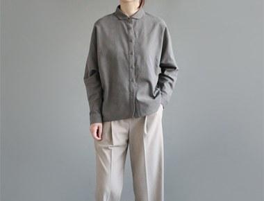 [当天发货] COMM衬衫 - 卡其色柔和昂贵的品牌......我们将确保他们...注意/门/宽/周小肠见