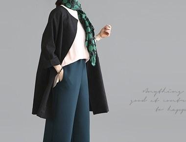 [当天发货]干燥jyagadeu呢子大衣 - 黑色反应HOT!