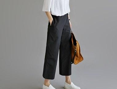 [当天发货]胡珀广泛的宽松长裤