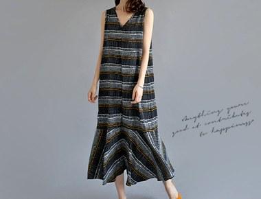 [当天发货]安妮连衣裙周门宽周