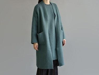 切尔滕纳姆适合博提安哥拉极佳替代品颜色不同寻常的长开衫外套