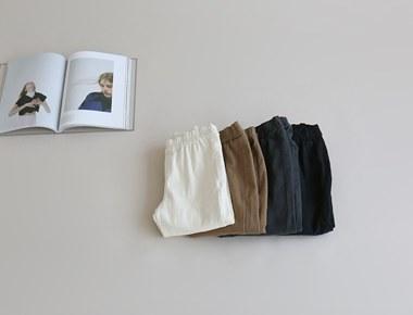 加绒贝瑞修身的长裤 -  4C和重口