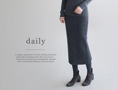 [当天发货]必须针织裙 -  2C