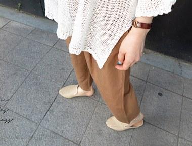 润·马勒拖鞋 -  3C轻松风格很不错^^