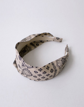 Paisley hairband