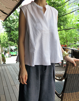 Alan linen blouse - 2c
