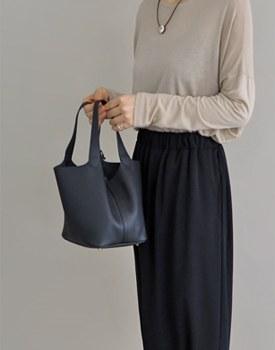 Pecan bag - black