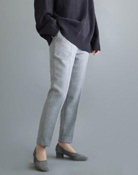 [当天发货]巴吉度羊毛裤 -  yeongeureyi厚料羊毛不ttagapji调节,以使织物里面 - 暴走