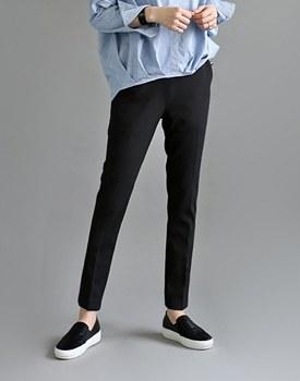 [当天发货]磁带旧金山宽松长裤 - 黑色dotom八方材料 - 我所有的时间从现在开始穿