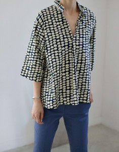 May print blouse