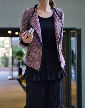 Tweed tassel JK - 2c