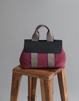 h -suede bag
