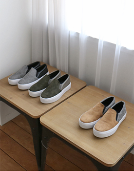 r. two tone slipon - 3c