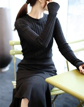 EDITION knit(slim fit) - 4 colors