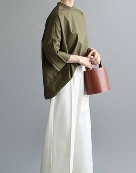 [当天发货] LOG BL  -  2C优雅,时尚,这是真的很漂亮的衬衫 -