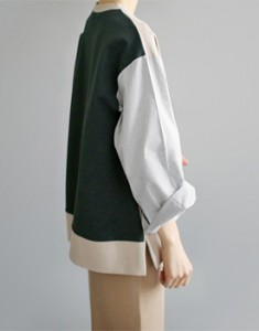 Jour two-tone top