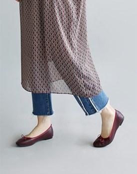 蝴蝶结平底鞋 -  3C找来小尺码〜