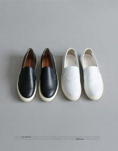 CL松紧帆布鞋 -  2C真正的牛皮