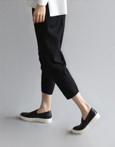 [装运日]逆行针织裤舒适而时尚〜订货进度