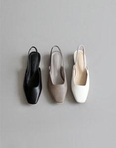 耐寒露脚后跟鞋 -  3C容易大小