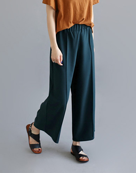 NOA pintuck Pants - 3c