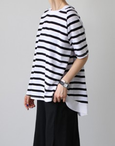 Monica Stripe T - 2c