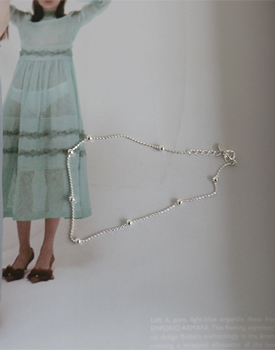 亚伦银色脚链时尚euneunhage