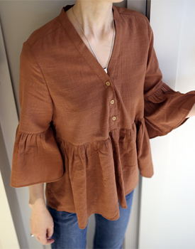 Bella Blouse - 3c