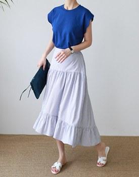 Stripe Frill Skirts