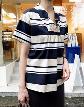Print corak blouse