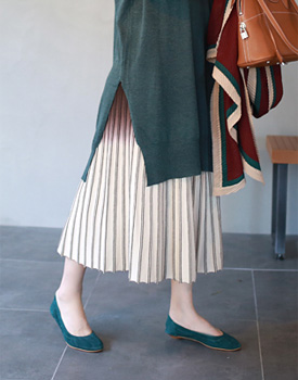 Ardennes two-tone skirt - 2c