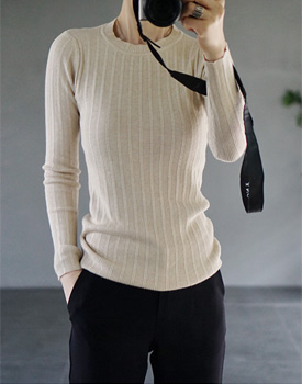 ECRU knit - 6 colors