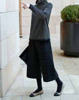 Owen Padding cropped pants - 2 colors
