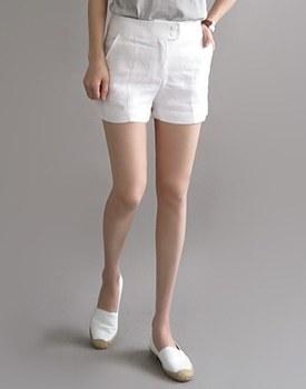 PRA * linen 40cm shorts