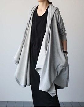 [当天发货] MERCI长卫衣 -  2C'm酷拥有独特的氛围:)