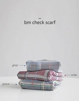 bm check scarf - 3c