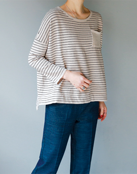 Theron stripe knit - 3c