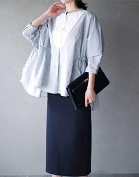Rouen stripe blouse