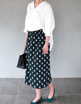 Case machine printing skirt