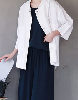 Addict linen jacket - 2c
