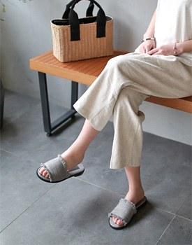 Backen fringe slipper - 2c