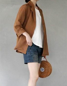 Half double jacket & blouse - 2c