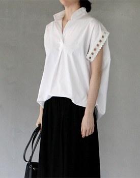 Lace balloon blouse - 2c