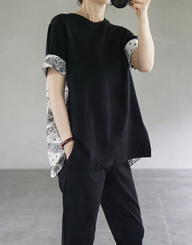 Paisley roll-up top - 2c