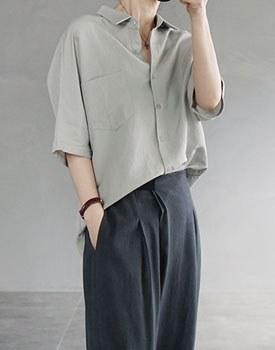 Baste linen shirt - 2c