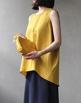 Mari Linen TOP-2c