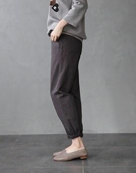 RC slub jogger pants -  2c