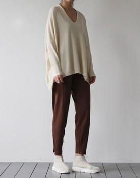 Slit Knit Jogger Pants - 2c