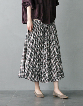 Morman Pleats Skirt - 2c