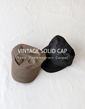Vintage Solid Cap - 2c